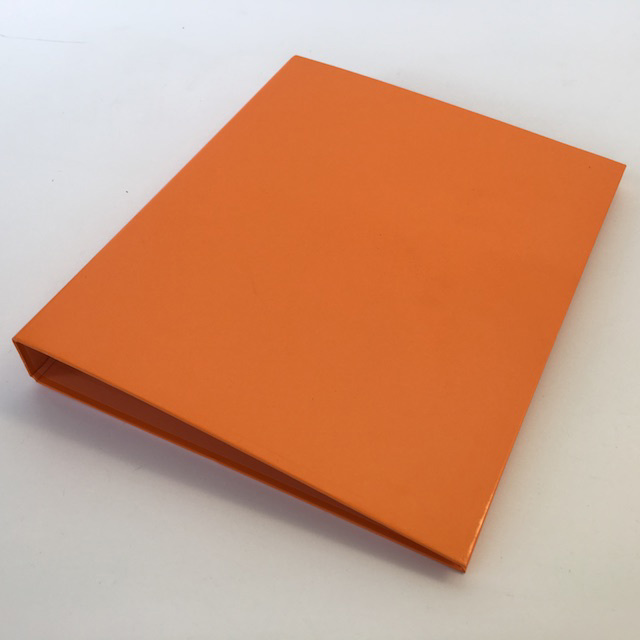 FIL0066 FILE, Ring Binder Small - Orange $1.50