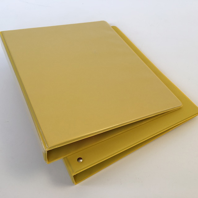 FIL0067 FILE, Ring Binder Small - Yellow $1.50