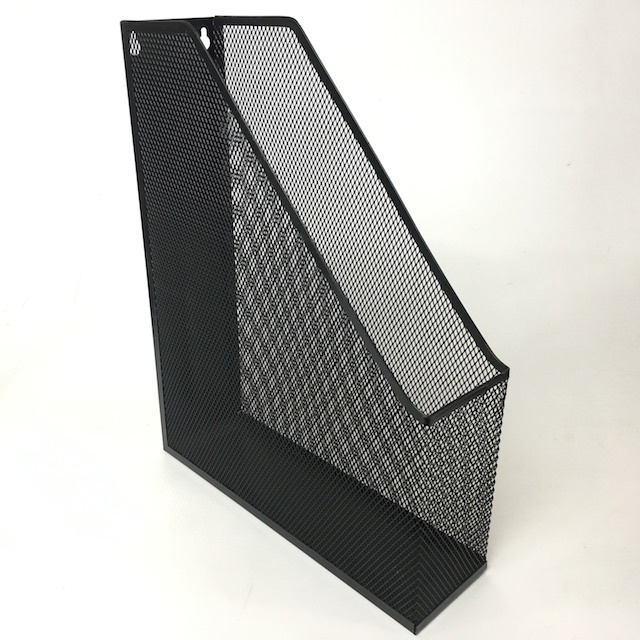 FIL0037 FILE HOLDER, Black Mesh $3.75