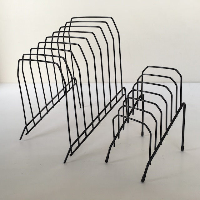 FILE ORGANISER, Wire Rack - Black - Small (FIL0049) $3.75 & Large (FIL0048) $5
