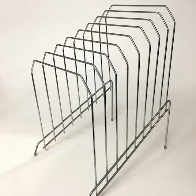 FIL0051 FILE ORGANISER, Wire Rack - Chrome Large $5