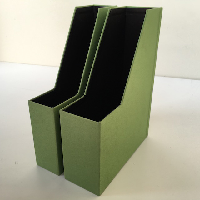 FIL0042 FILE OR MAGAZINE HOLDER, Green $3.75