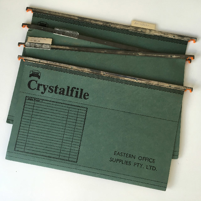 FIL0010 FILE, Crystalfile Green Single $0.50