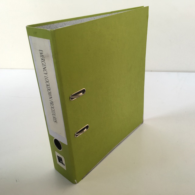 FIL0056 FILE, Lever Arch - Green (Lime) $2