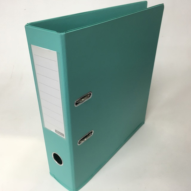 FIL0057 FILE, Lever Arch - Mint Blue $2