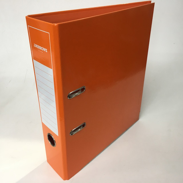 FIL0059 FILE, Lever Arch - Orange $2