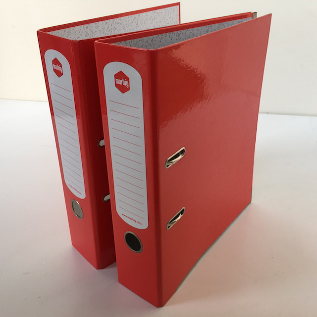 FIL0060 FILE, Lever Arch - Red $2