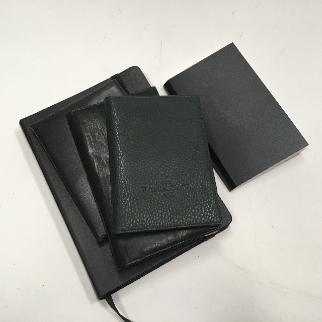 NOT0028 NOTE BOOK, Stylish Black Book $3.75