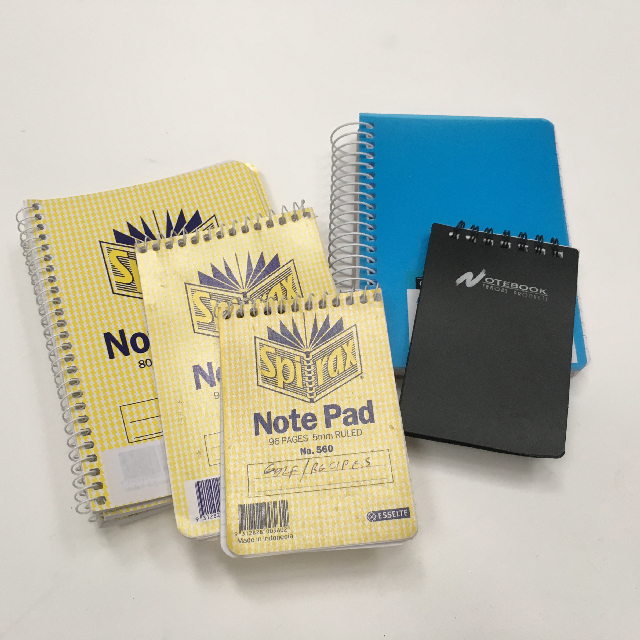 NOT0027 NOTE BOOK, Small Spiral Assorted $1.25