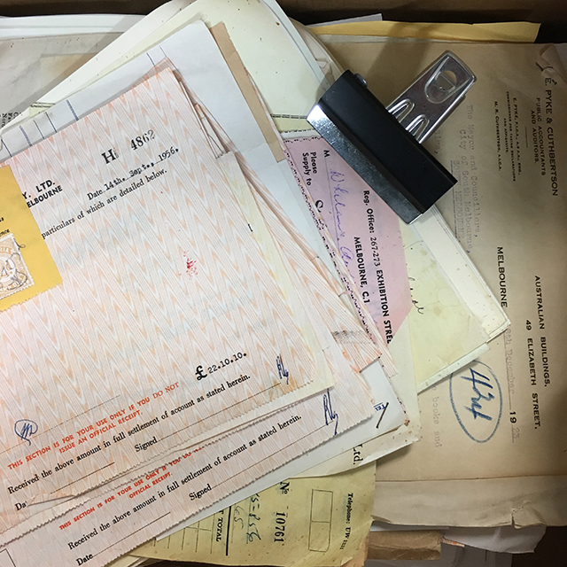 PAP0010 PAPERWORK, Period - Small Box Lot $37.50