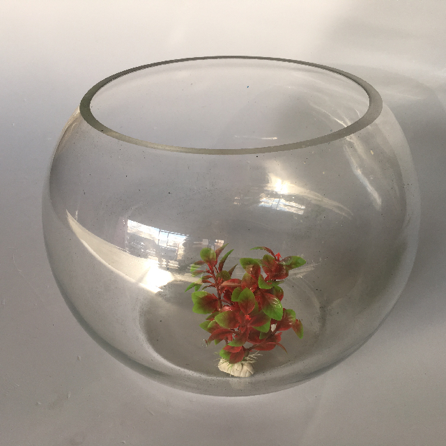 PET0003 PET, Aquarium - Glass Fish Bowl $11.25