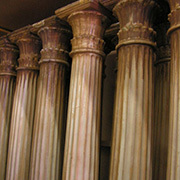 COL0003 COLUMN, Roman Fluted (2.35m H x 30cm W at Base) $80