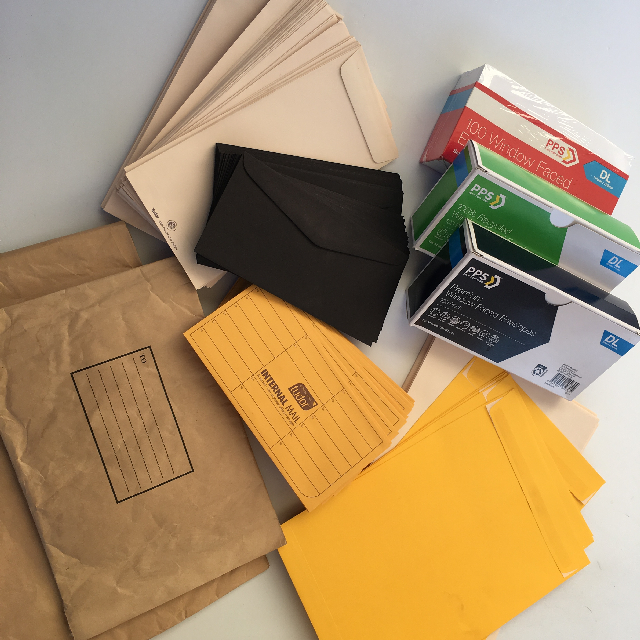 POS0056 POST, Envelopes Bundles of 10 $2.50