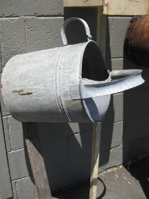 POS0063 POST BOX, Galvanised Watering Can $22.50