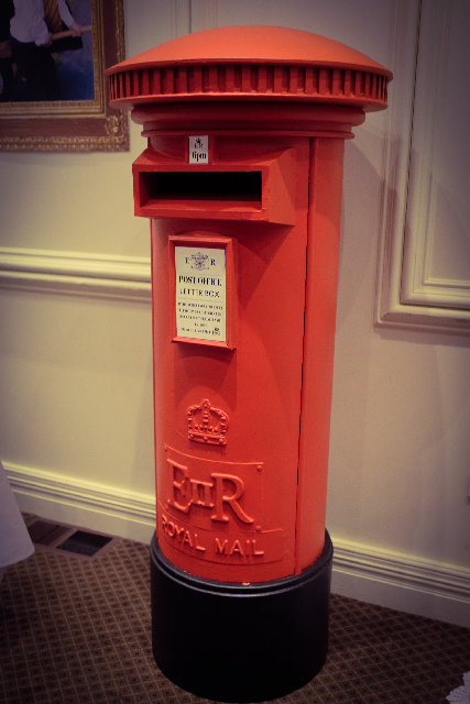 POS0099 POST BOX, Royal Mail Pillar Box - British $150