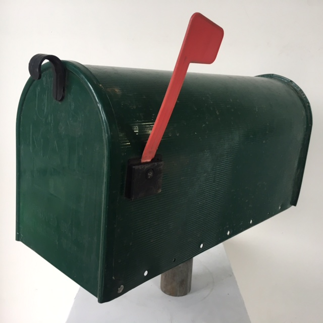 POS0077 POST BOX, USA 53cm Green $31.25