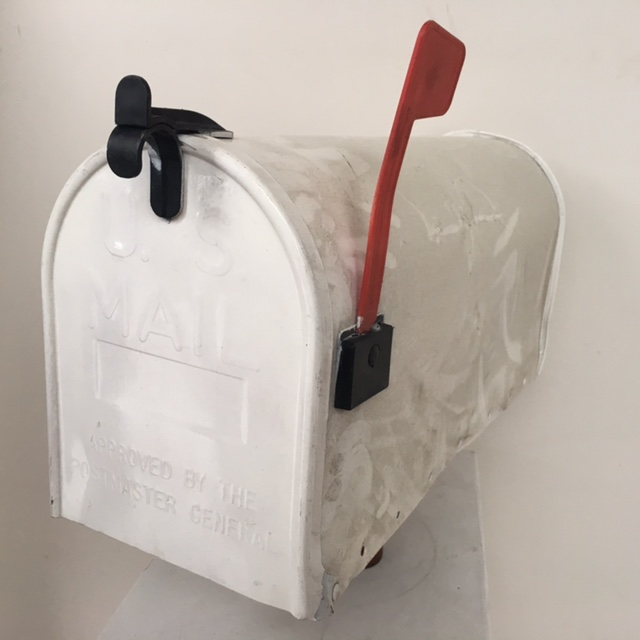 POS0079 POST BOX, USA 53cm White $31.25