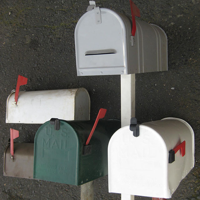 American Style Props - Post Boxes