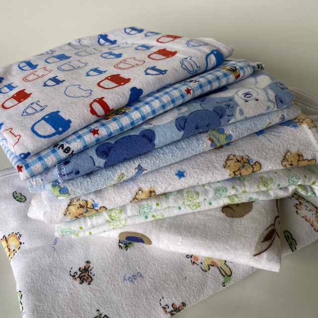 BAB0001 BABY BLANKET, Boys Wrap $3.75