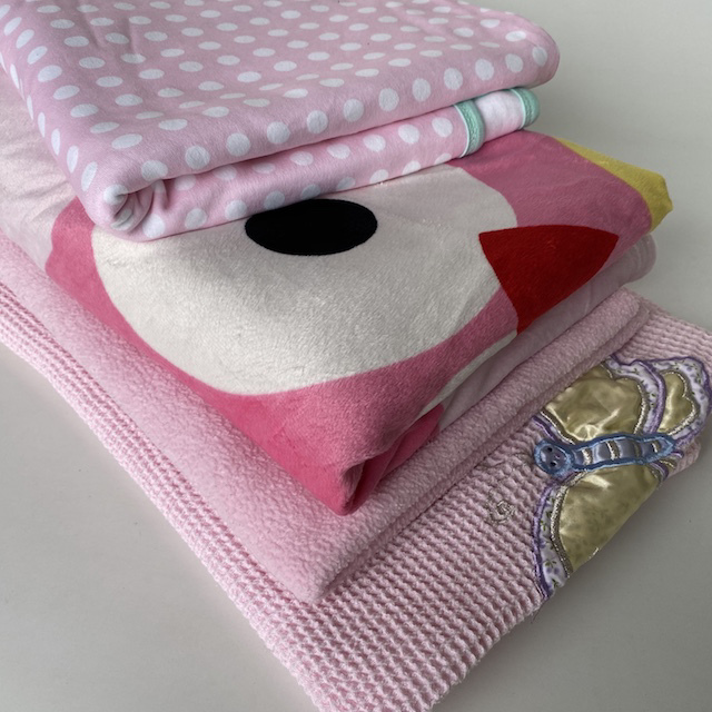 BAB0006 BABY BLANKET, Girls $6.25