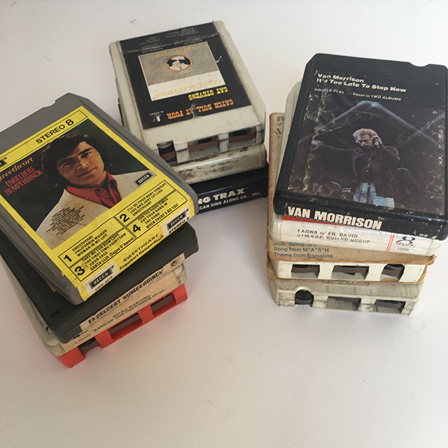 CAS0214 CASSETTE, 8 Track Cartridge $2.50