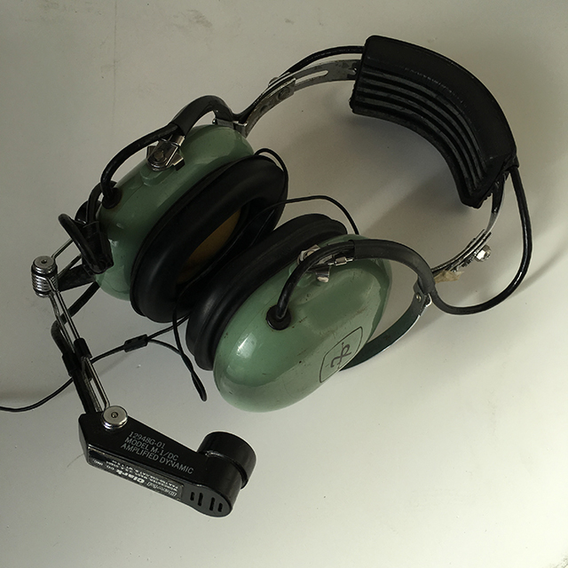 HEA0001 HEADPHONES, Aviation - Pilot Green $30