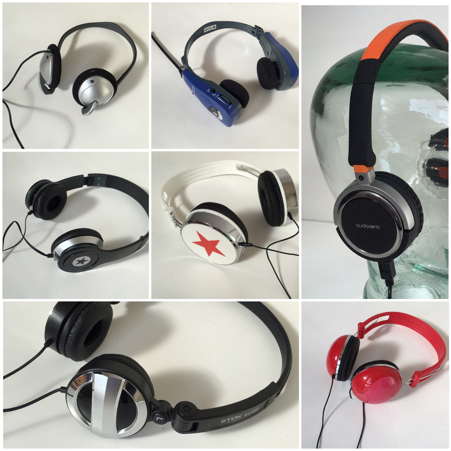 HEA0003 HEADPHONES, Novelty - Assorted $8.75
