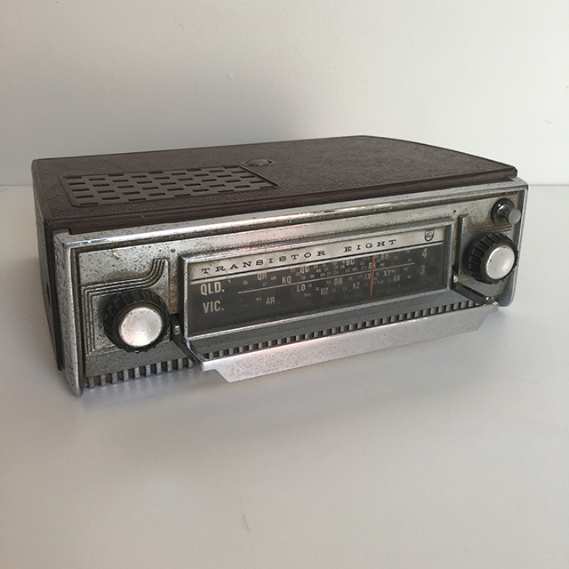 RAD0050 RADIO, Transistor Eight $12.50