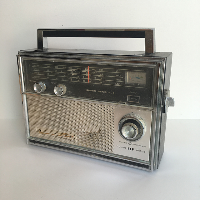 RAD0027 RADIO, Silver Super Sensitive $12.50