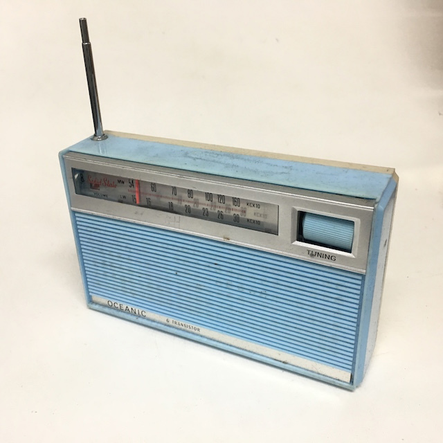 RAD0057 RADIO, Transistor - Light Blue Oceanic $8.75