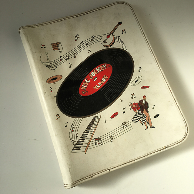 REC0010 RECORD, Novelty Vinyl Folder $3.75
