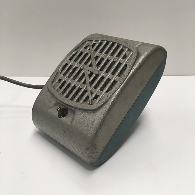 SPE0003 SPEAKER, Intercom 1960s Grey Hammertone $18.75