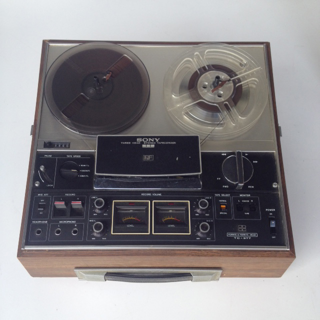 REC0012 RECORDER, Tape - Sony Three Head $30
