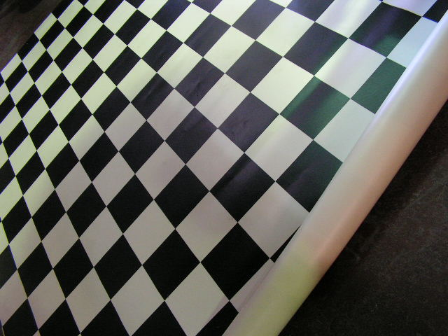 LINO, Black & White Check 3 Sizes: 3m x 3m / 3m x 2.3m / 3m x 2.7m $37.50 Each