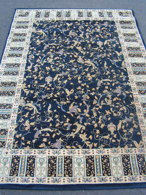 RUG0012 - RUNNER - Navy Traditional 2.4m x 1.7m $75