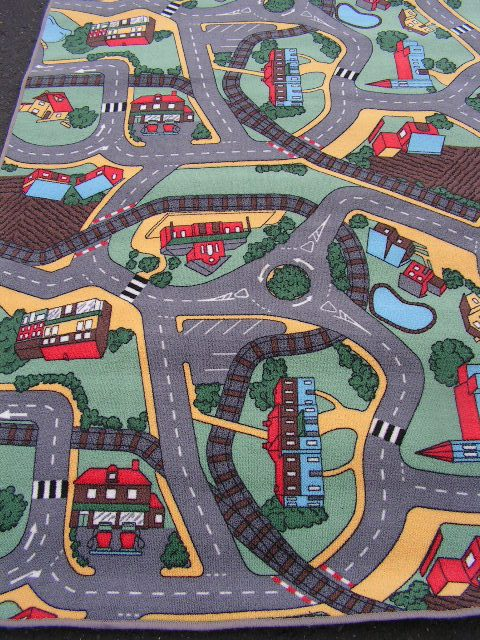 RUG0027 - Kids Road Map 1.8m x 1.2m $25