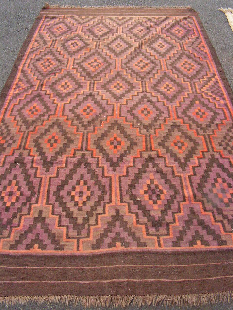 RUG0051 - Aztec Brown 3.6m x 2m $100