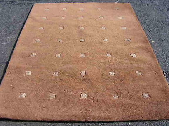 RUG0064 - Brown Pattern 2.3m x 1.6m $50