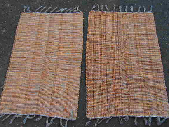 RUG0068- Brown with Fringe 80cm x 55cm $8.75