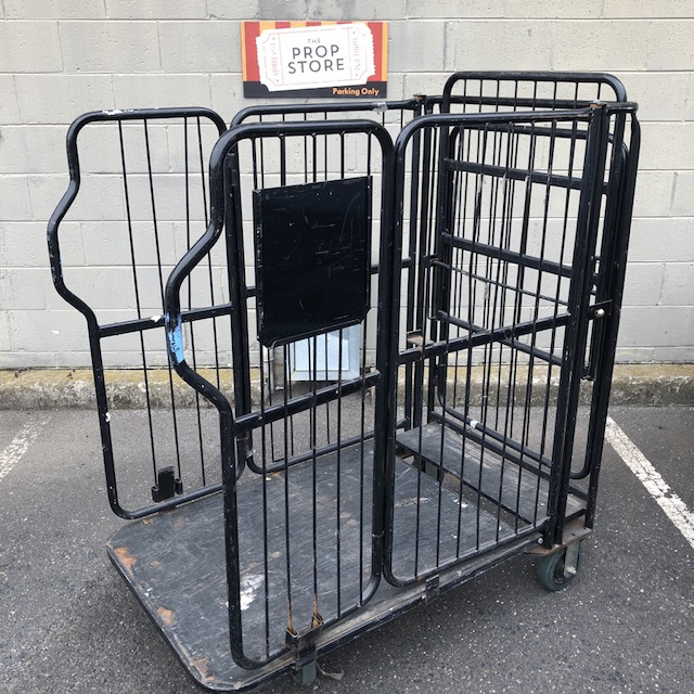 TRO0118 TROLLEY, Stock Trolley - Black Cage  $62.50