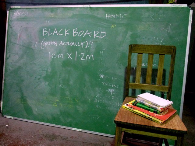 BLA0006 BLACKBOARD, Green (Wall Mount) 1.2m x 1.8m $62.50