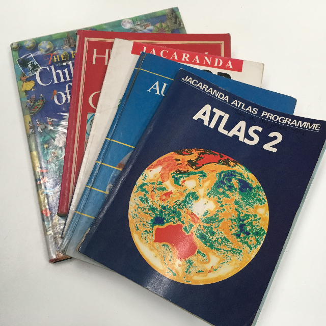 BOO0072 BOOK, Atlas - Junior School Atlas Assorted $3.75