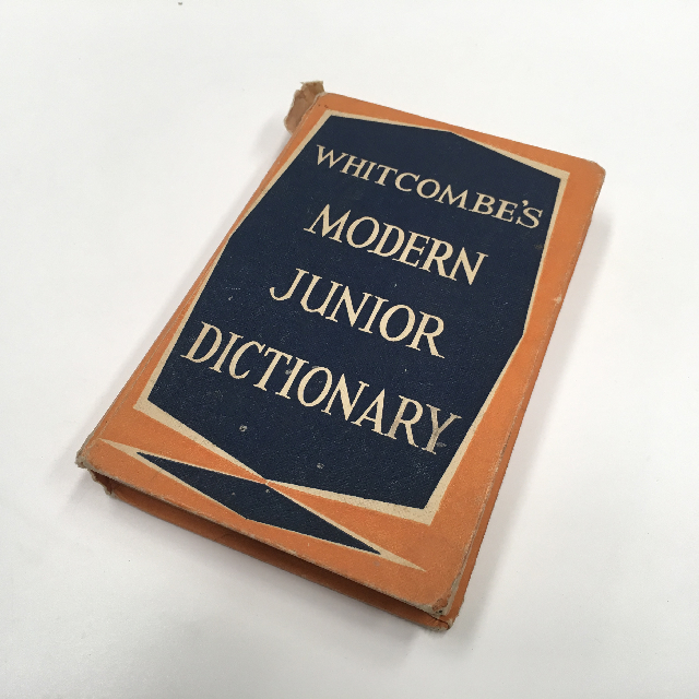 BOO0074 BOOK, Dictionary - Modern Junior Dictionary $6.25
