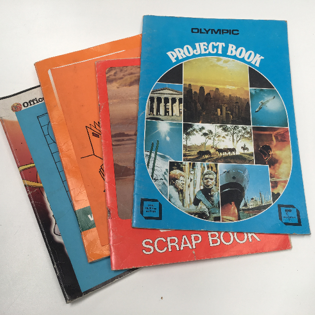 BOO0078 BOOK, Exercise Book - Project or Scrap Book Assorted (Contemporary) $1.25