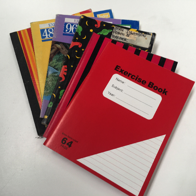 BOO0079 BOOK, Exercise Book - Small Assorted (Contemporary) $0.75
