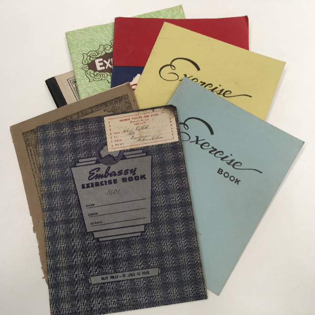 BOO0083 BOOK, Exercise Book - Assorted Period Styles $3