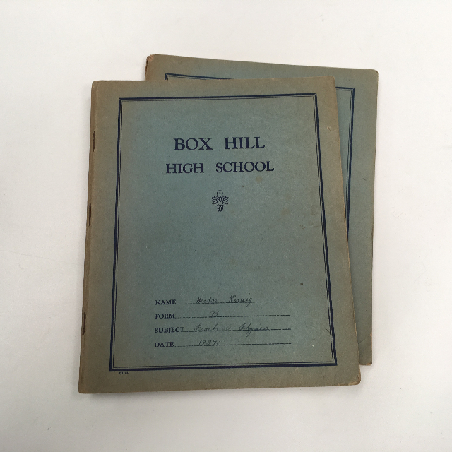 BOO0085 BOOK, Exercise Book - Blue Box Hill High School $3