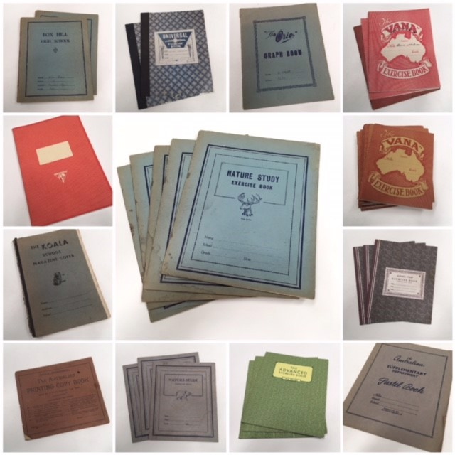Assorted Period Exercise Books