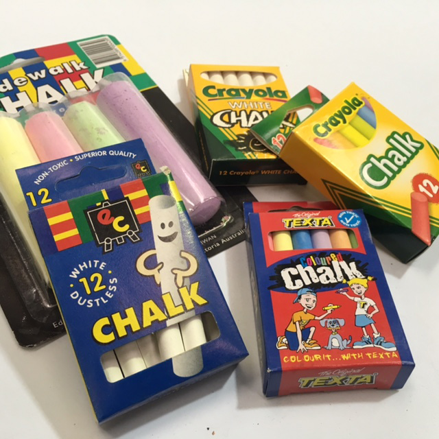CHA1000 CHALK, Box Of Assorted $2.50
