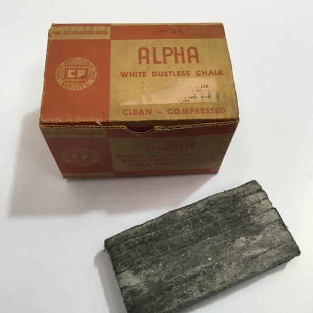CHA1001 CHALK, Box Of Alpha $6.25
